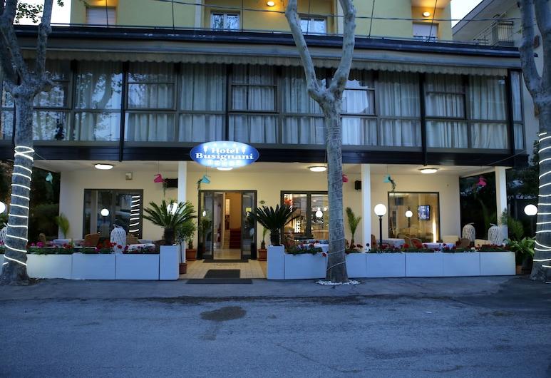 Hotel Busignani, Rimini, Hotel Front