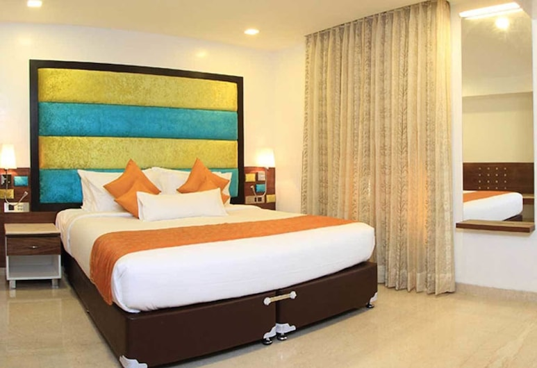 La Woods Hotel, צ'נאי, חדר אקזקיוטיב, מיטת קינג, חדר אורחים