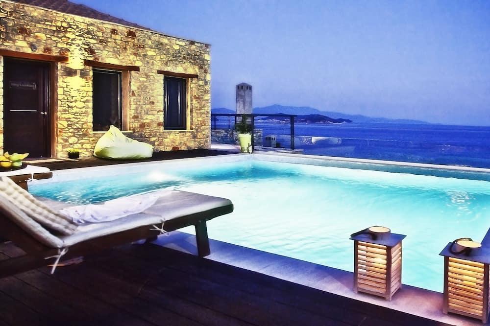 Deluxe Βίλα, Θέα στη Θάλασσα - Εξωτερική πισίνα