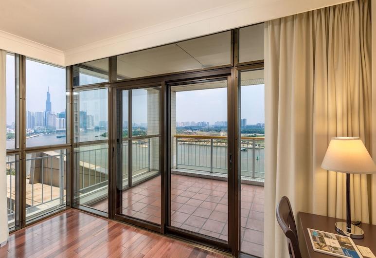 The Landmark Serviced Apartments - Managed By Peninsula Properties, Hočiminovo mesto, Apartmán typu Executive, 2 spálne, výhľad na rieku, Obývacie priestory