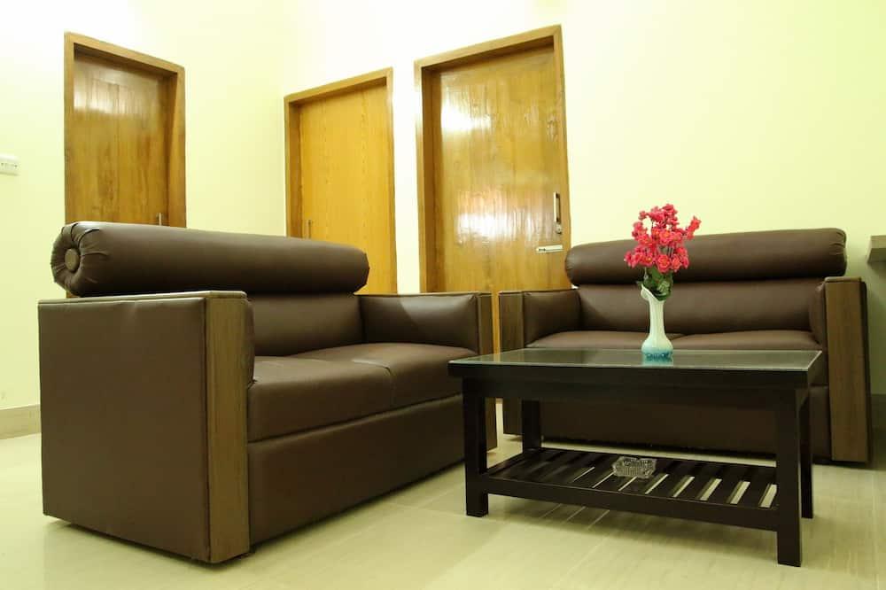 Deluxe apartman, 2 spavaće sobe, čajna kuhinja, pogled na grad - Dnevni boravak