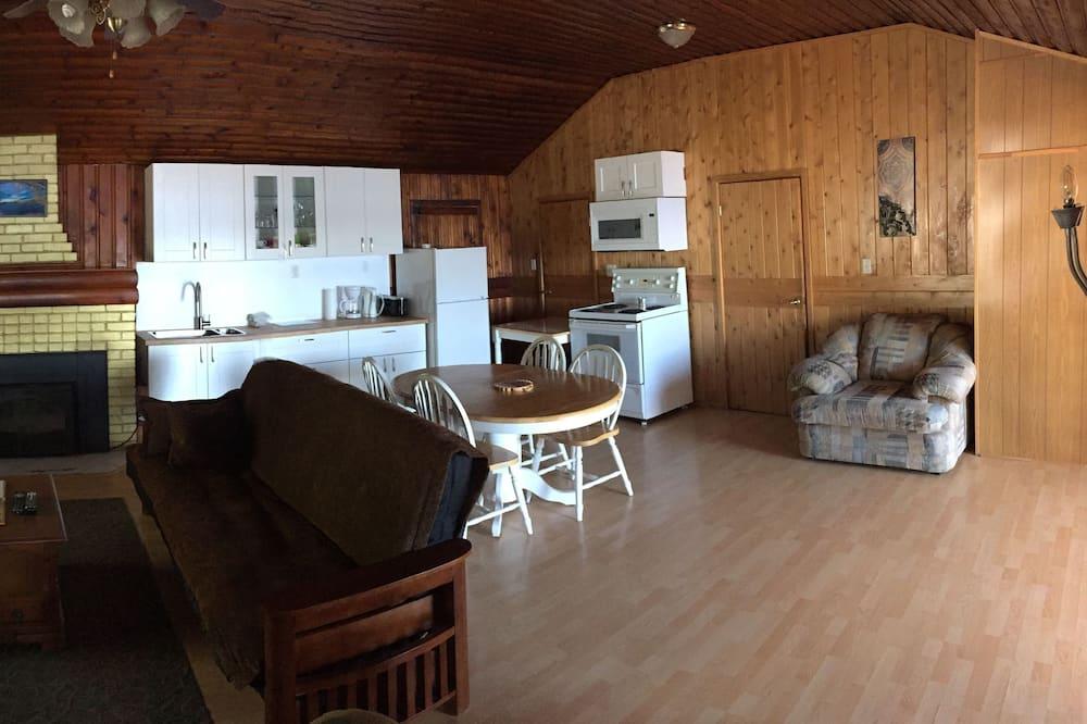Apartament typu Suite, 2 sypialnie, widok na jezioro - Powierzchnia mieszkalna