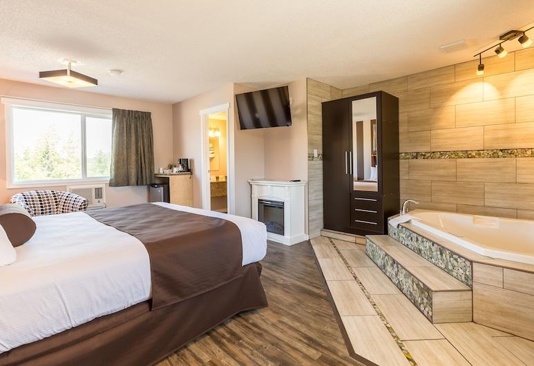 Carmel Inn, Prince George, Suite, Banheira de Hidromassagem, Banheira de Hidromassagem