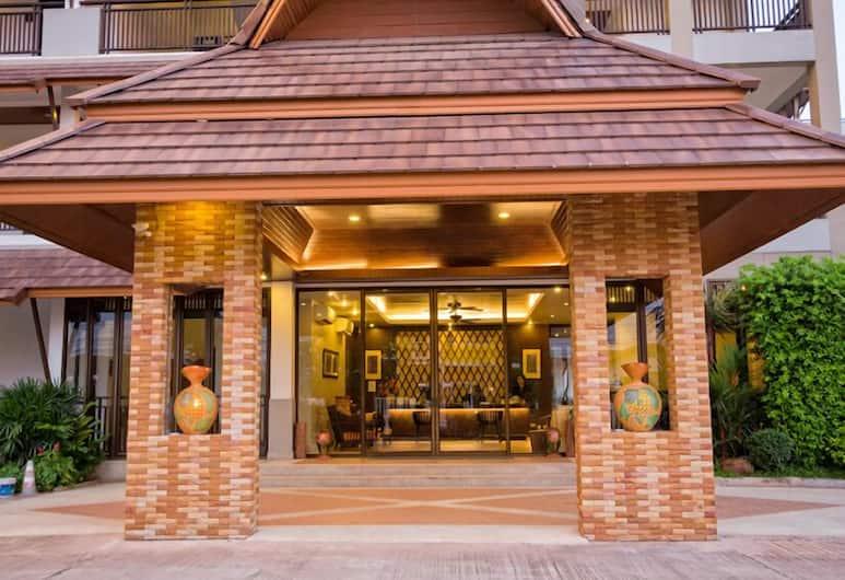 Panya Resort Hotel, Udon Thani, Wejście do hotelu