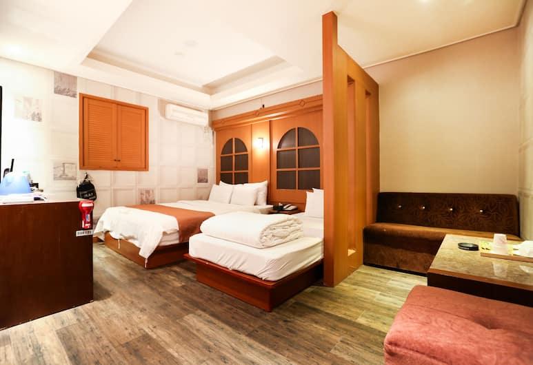 호텔 하이랜드, 서울특별시, 패밀리 트윈룸, 객실