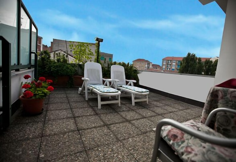 Hotel Rainero, Asti, Double Room, Terrace, Terrace/Patio
