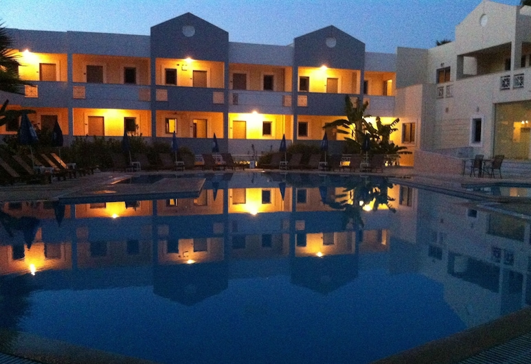 Olga's Paradise Hotel Apartments, Kos, Venkovní bazén
