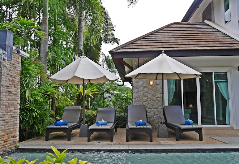Suriya Som Villa, Choeng Thale, Zonneterras