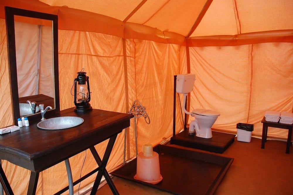 Luxury Tent, 1 Bedroom, Mountain View - Bathroom
