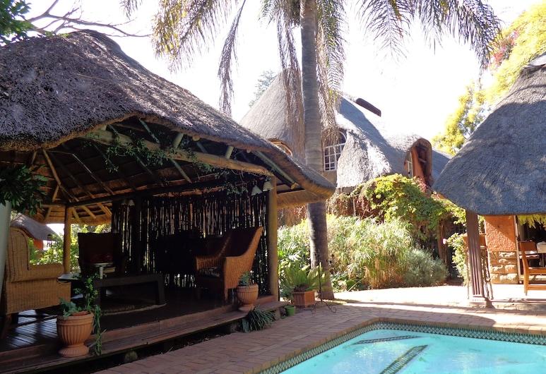 TreeTops & Treats Guest House, Pretoria, Área para desayunar