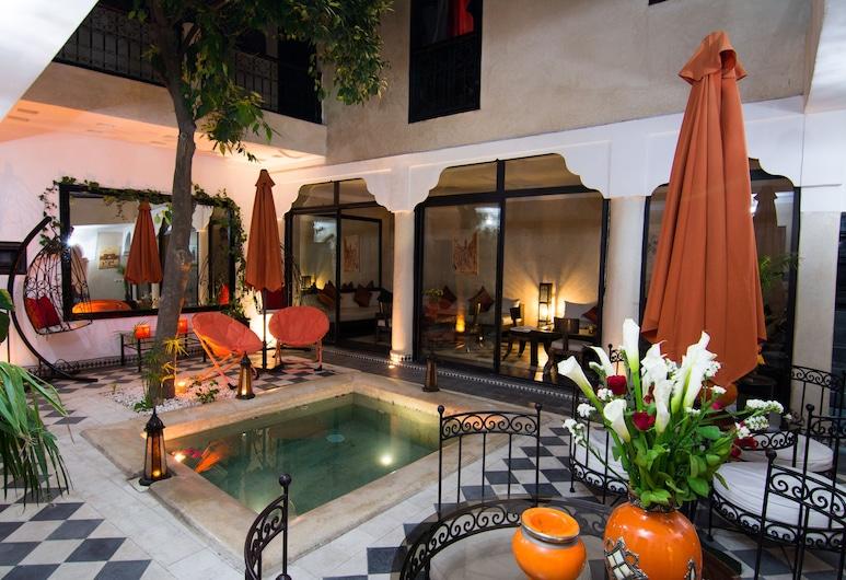 Riad Le Bel Oranger, מרקש, בריכה מקורה