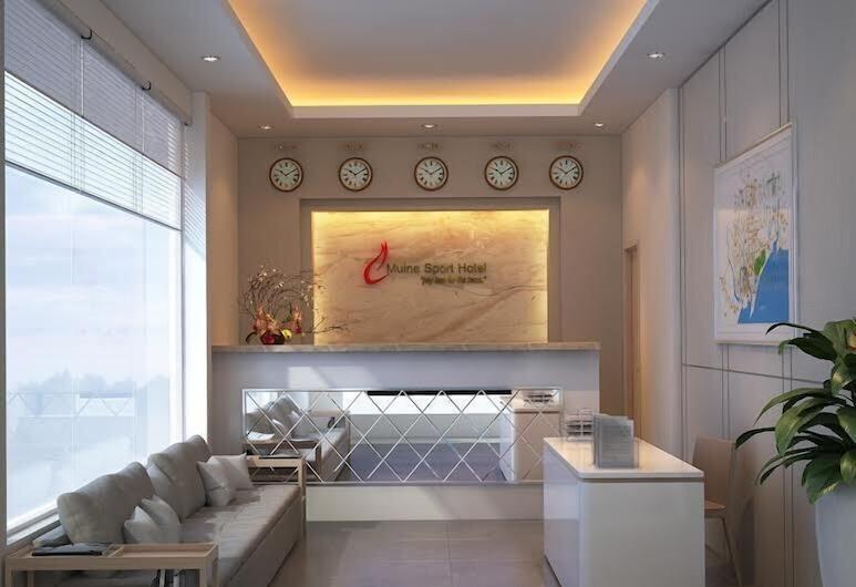Mui Ne Sports Hotel, Phan Thiet, Reception