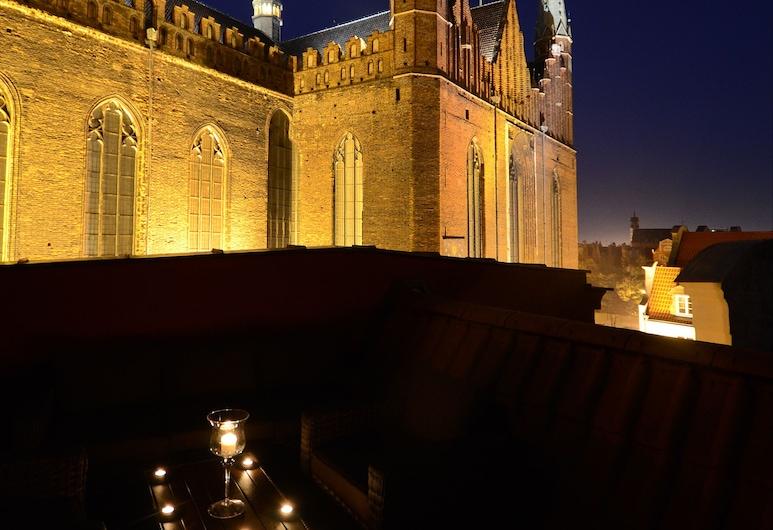 Stay Inn Hotel, Gdansk, Hotel Front – Evening/Night