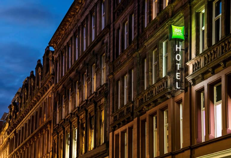 Ibis Styles Glasgow Centre George Square, Glasgow, Hotel Front