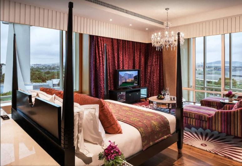 Taj Santacruz, Bombay, Grande Luxury, Süit, 1 En Büyük (King) Boy Yatak, Business Dinlenme Salonu Kullanımı, Oda Manzarası