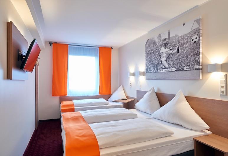 McDreams Hotel Mönchengladbach, Mönchengladbach, Standardna trokrevetna soba, Soba za goste
