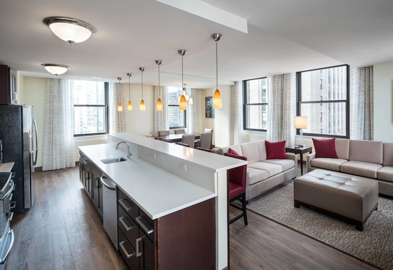 Residence Inn Chicago Downtown/Loop, Chicago, Herbergi