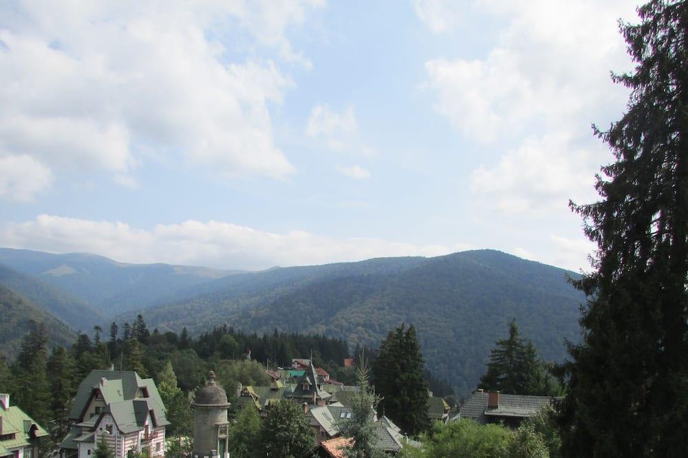 Panoramic tvåbäddsrum - utsikt mot bergen - Balkong