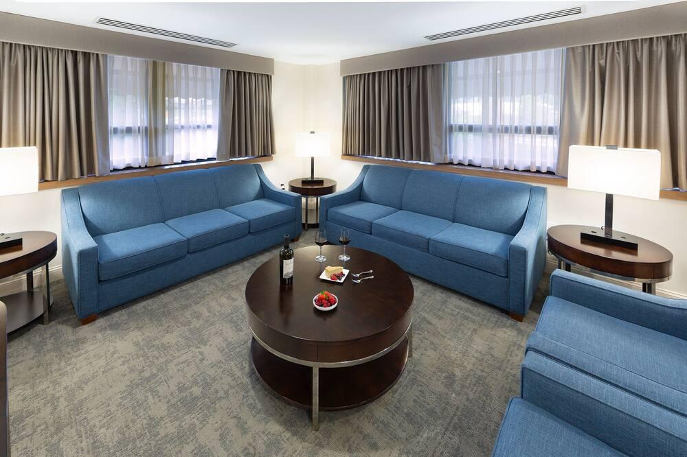 Suite Premium, 1 très grand lit (King) - Coin séjour