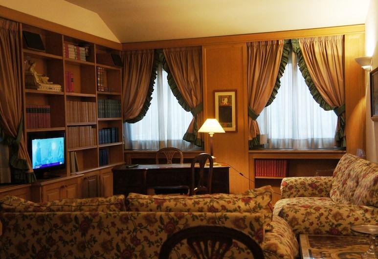 五九豪華酒店, 羅馬, 行政公寓 (Michelangelo), 客房