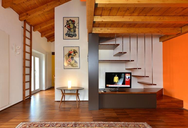 Heart Milan Apartment - Navigli, Milaan, Appartement, 1 slaapkamer, keuken (Address: Via Corsico 9), Kamer