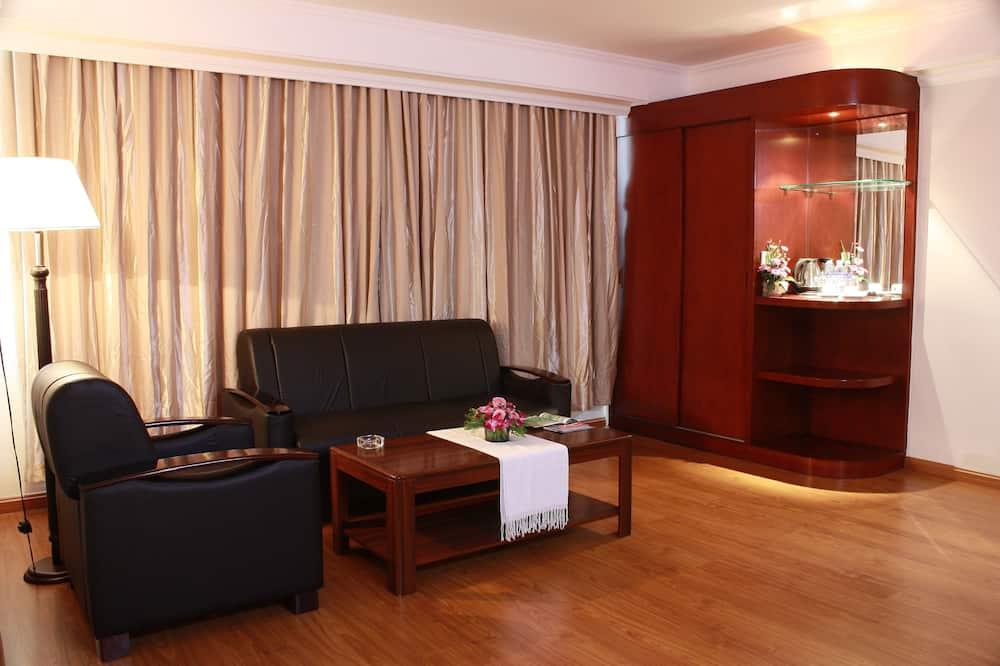 Suite - 1 kingsize-seng - Opholdsområde
