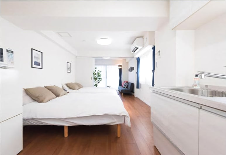Sophiearth Apartment, Tokyo, Deluxe Apartment, 1 Bedroom, Private Bathroom, City View, Guest Room