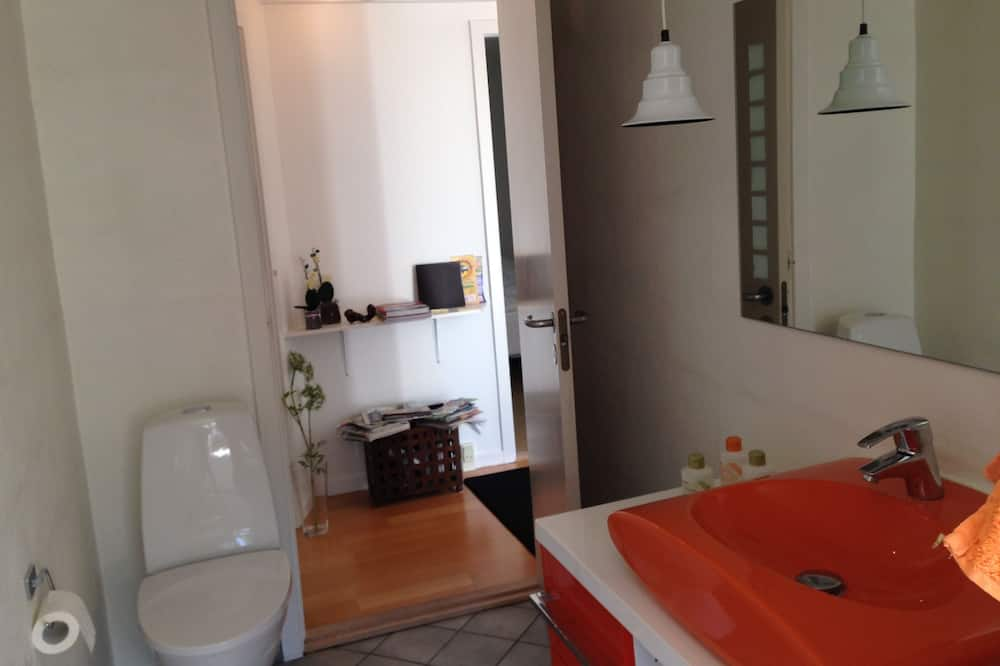 Двухместный бизнес-номер с 1 или 2 кроватями, общая ванная комната - Ванная комната
