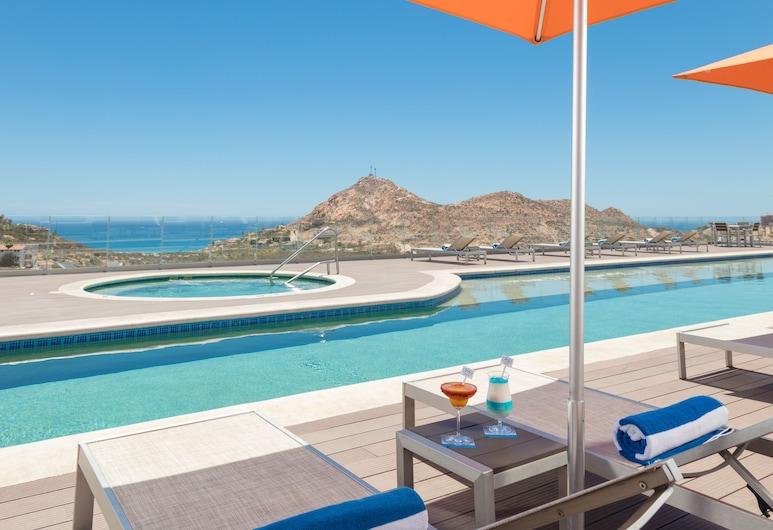 Hampton Inn & Suites by Hilton Los Cabos, San Jose del Cabo, Pool auf dem Dach