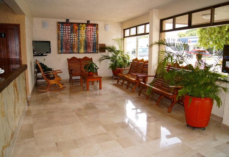 Hotel Veracruz, Oaxaca, Lobby