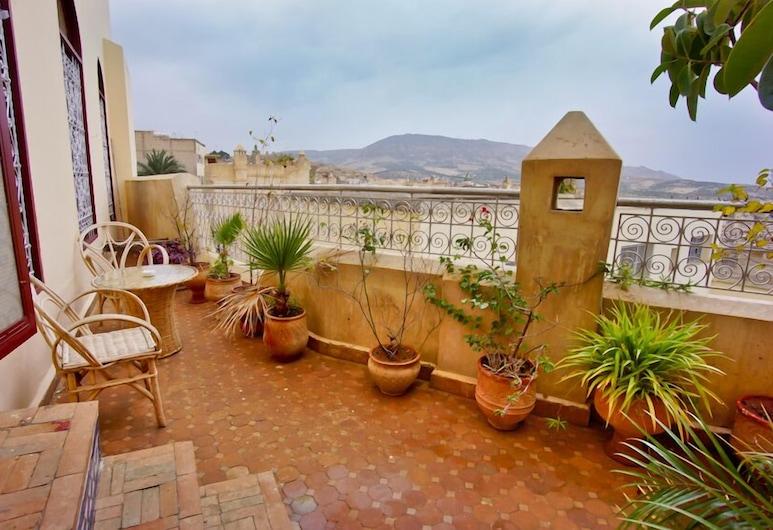 Riad Fes Palacete, Fes, Terasa / vidinis kiemas