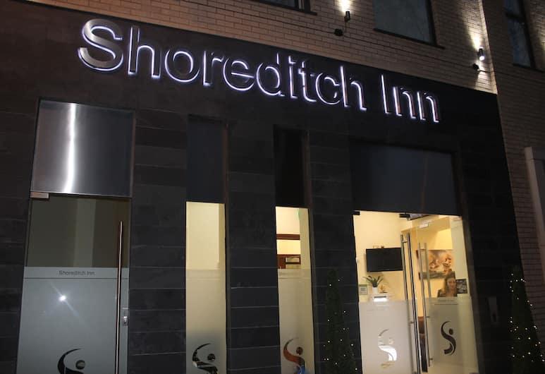 Shoreditch Inn, Londen, Voorkant hotel
