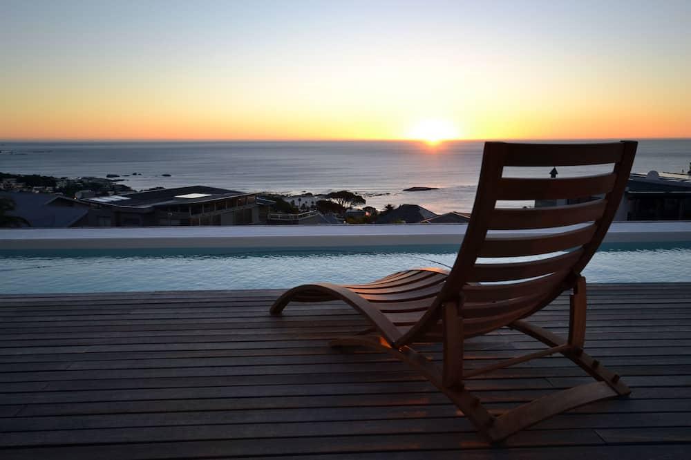فيلا بريميير - عدة غرف نوم - مع إمكانية استخدام المسبح - بمنظر للمحيط - تِراس/ فناء مرصوف