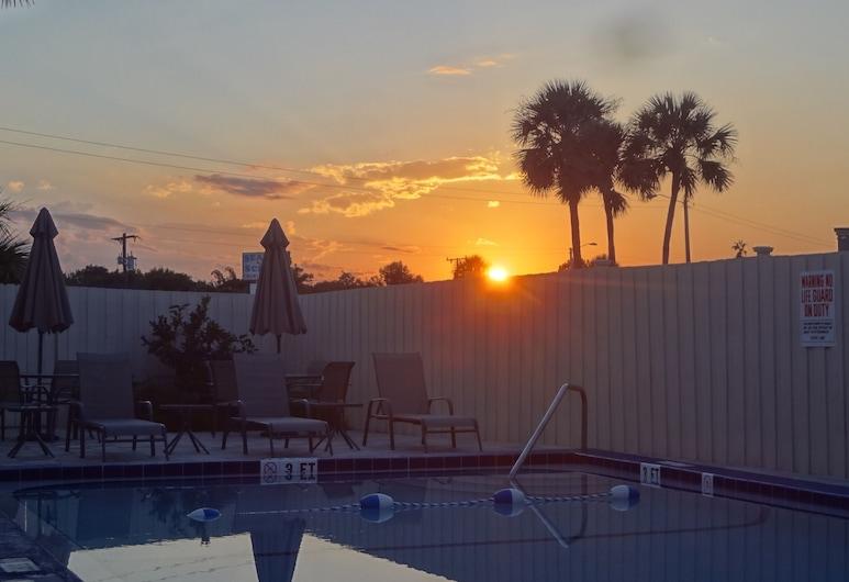 Island Shores Inn, St. Augustine, Venkovní bazén