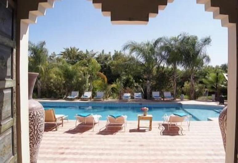 La Kasbah Chwiter, Al Ouidane, Vanjski bazen