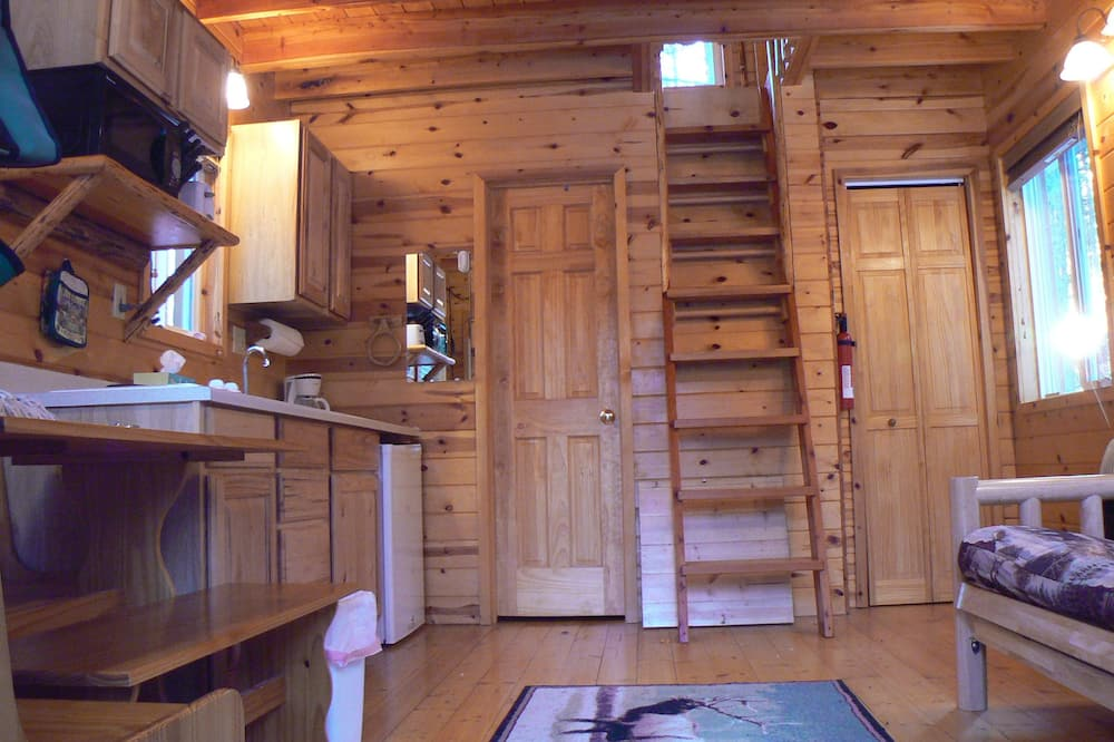 Baita, Letti multipli (Little Grizz) - Area soggiorno