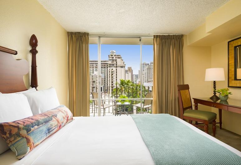 Ohia Waikiki Studio Suites, Honolulu, Oda, 1 En Büyük (King) Boy Yatak, Manzara (Sky View), Oda