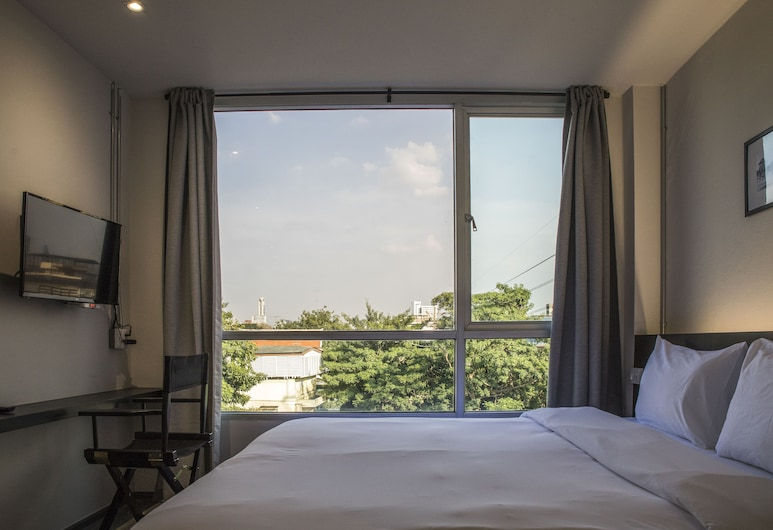 Tim Mansion, Bangkok, Deluxe Twin Room, Multiple Beds, Mountain View, Guest Room