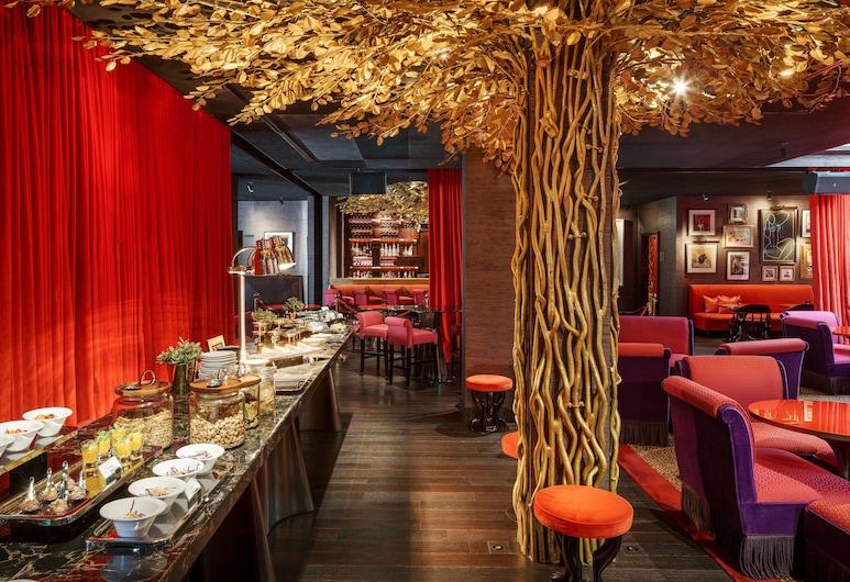 ذا فاجابوند كلوب، سنغافورة، إيه تربيوت بورتفوليو هوتل, سنغافورة, غرفة كلوب - سرير ملكي - لغير المدخنين, بار الفندق