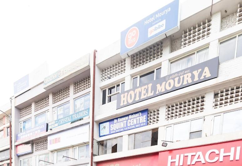 OYO 555 Hotel Mourya, Chandigarh, Buitenkant