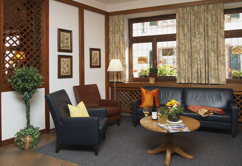 Hotel Felsenkeller, Ruedesheim am Rhein, Zitruimte lobby