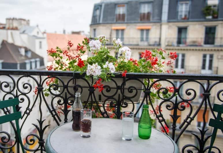 Familia Hotel, Paryż, Pokój dla 2 osób Superior, Balkon
