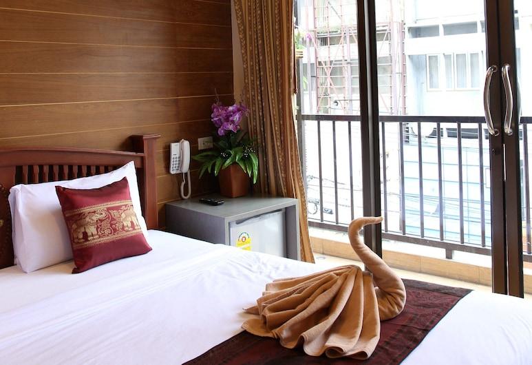 タニー プレイス, バンコク, Exclusive Deluxe Room with Balcony, 部屋