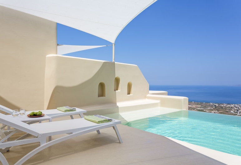Skyfall Suites - Adults Only, Σαντορίνη, Cabana Suite, Private Pool, Sea View, Θέα από το δωμάτιο