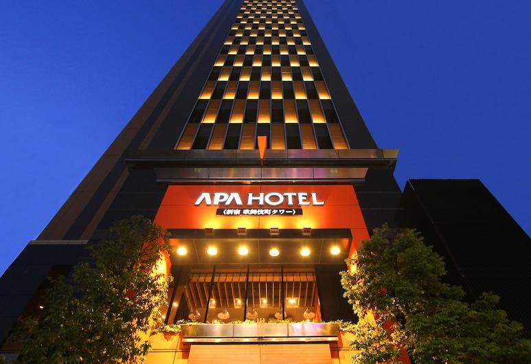 APA 新宿歌舞伎町塔樓飯店, 東京, 飯店入口 - 夜景