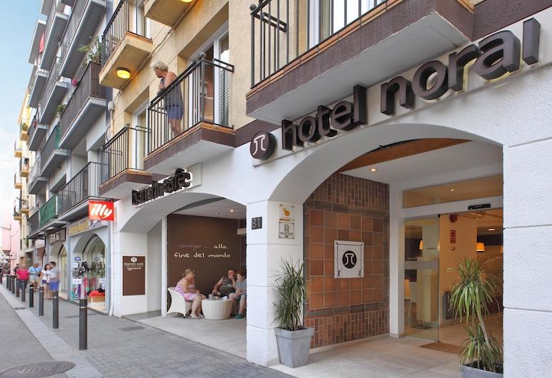 Hotel Norai, Lloret de Mar, Wejście do hotelu