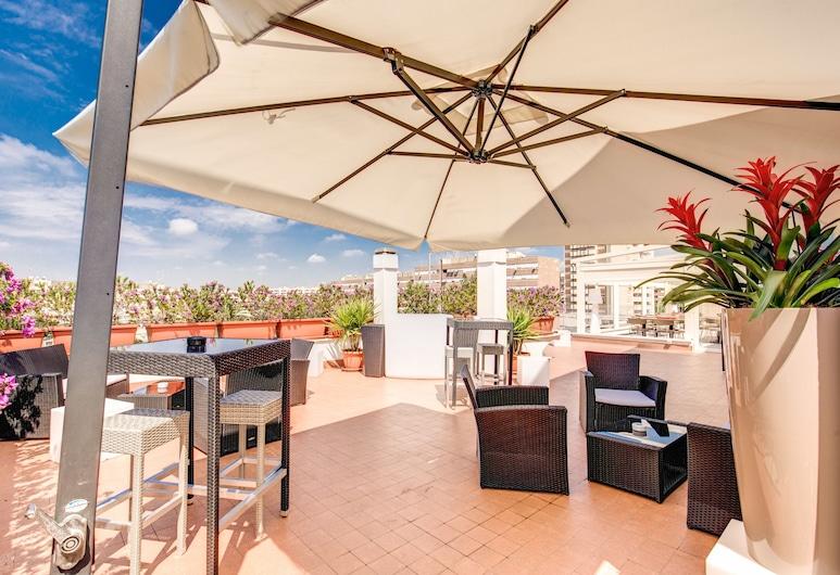 Warmthotel, Rzym, Taras/patio