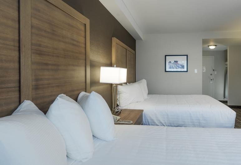 Quality Hotel, คลาเรนวิลล์, ห้องสแตนดาร์ด, เตียงควีนไซส์ 2 เตียง, ปลอดบุหรี่, ห้องพัก