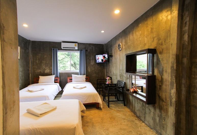 At Smile House, Bangkok, Superior Triple Bed Room, Hosťovská izba