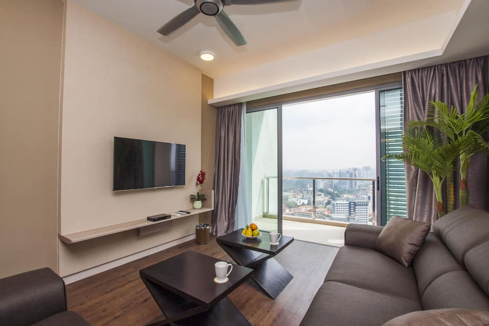 Suite Premium, 2 camere da letto (Suasana) - Area soggiorno